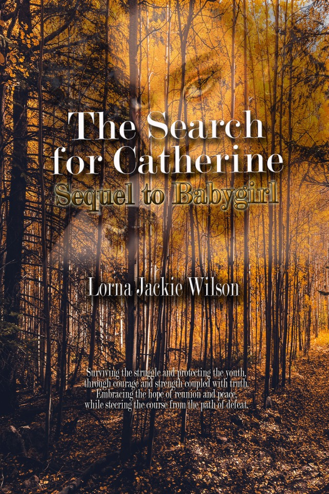 Search for Catherine - Front Cover and Spine - 9-12-2018